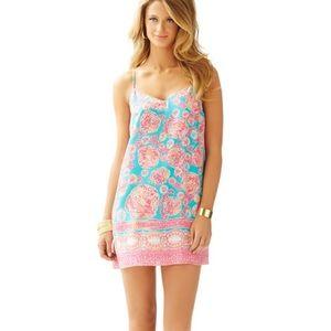 Lilly Pulitzer Dusk Strappy Silk Dress size xs